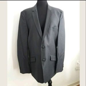 Zara Man Mens Size 46 Suit Jacket Blazer Gray